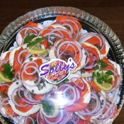 Lox and Cream Cheese Platter